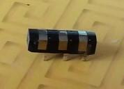 Cabezal magnético de 3 pistas - grosor: 3 mm