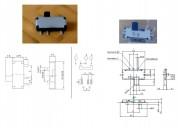 Un pequeño corredera-interruptor electric