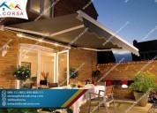 Toldos para terrazas, patios y exteriores en lima