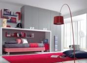 camarotes  y dormitorios en melamina