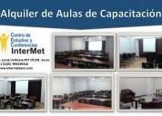 Alquiler  de  aulas para cursos seminarios