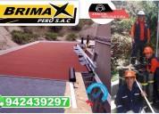 venta e instalacion de manto asfaltico, brimax.