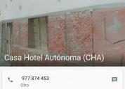 Excelente casa hotel autonoma hostal hospedaje 3 dormitorios