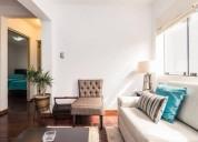 Alquilo lindo apartamento en miraflores.
