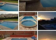 Alquilo excelente casa con piscina 2 dormitorios