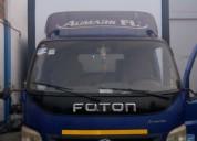 Vendo camion foton ollin turbo 5.4 toneladas