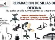 Restauración de sillas de oficina