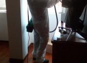 Servicio de fumigacion y control de plagas