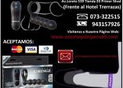 Modelo: fantasy c-ringz remote control double pene