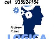 Profesor especialista en logica da clases a domici