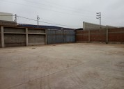 Alquilo lurin local industrial 2500 m2