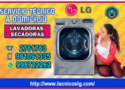 Lg tecnicos de lavasecadoras 2761763 a su hogar
