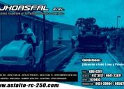 J & a asfaltos eirl asfalto liquido rc 250 -asflt.