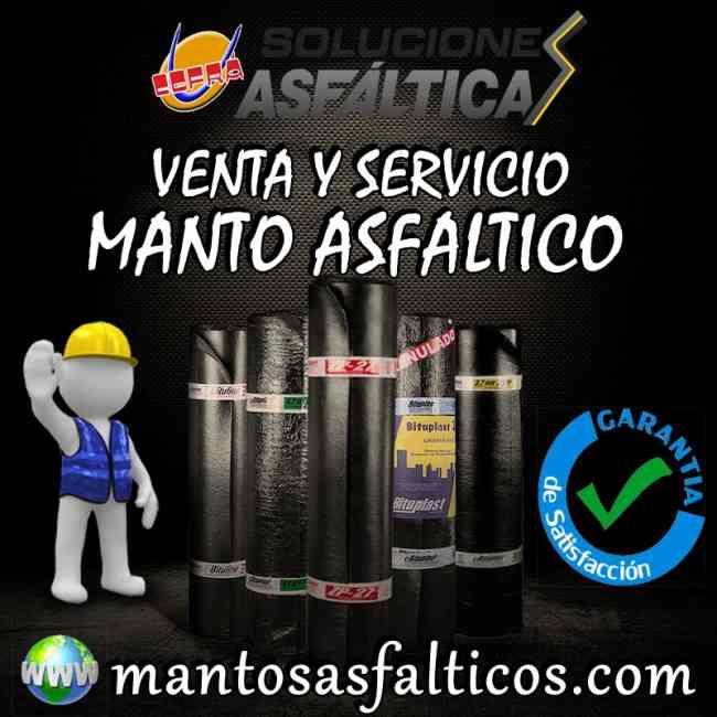 VENTA E INSTALACION DE MANTO ASFALTICO 3MM , 4MM