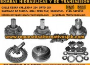 Surco bombas de transmision bombas hidraulicas smf