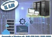 Venta de hosting desde s/. 5.00 cel. 949178341