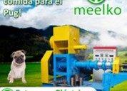 Extrus. meelko pellets alimentación perros-gatos