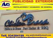 Agv publicidad exterior lima peru , letreros