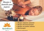 Terapias y masajes profesionales