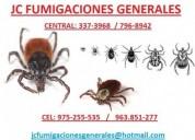 Fumigaciones eliminamos insectos  7968942 .