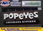 Agv publicidad exterior lima perú letreros luminos