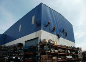 Limpieza y mantenimiento de naves industriales
