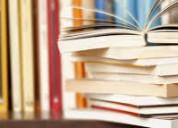 Compro libros de nuevos o usados y revistas.