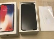 Apple iphone x fully unlocked 256gb