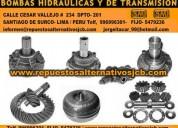 Repuestos de maquinaria pesada JCB Lima Peru