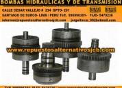 Bombas hidraulicas jcb lima perú y transmision