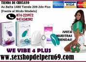 Producto:we vibe 4 plus vibrador inalambrico
