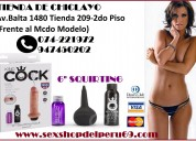 """Modelo: king cock 6"""" squirting"""