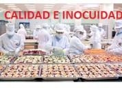 Asesoramiento en calidad e inocuidad de los alimen