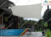 Toldos para terrazas de hoteles y restaurantes