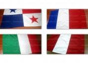 Venta de banderas para decoraciÓn de hoteles