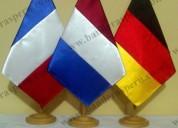 ConfecciÓn de banderas para escritorio en lima