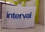 Confección de banderas publicitarias para empresas