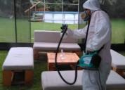Fumigación control de plagas, lavado y desinfecció