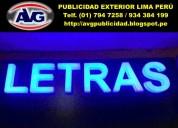 Letreros lima perú publicidad exterior lima perú
