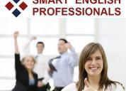 Inglés para negocios con profesores nativos