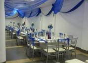 Eventos y buffets adriano: decoraciones