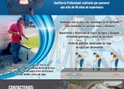 Detecciones de fugas de agua con geofono profesion