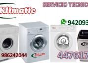 servicio tecnico lavadora secadora klimatic