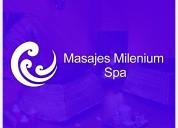 Masajes milenium spa