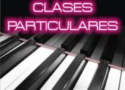 clases de piano particulares por maestro pianista
