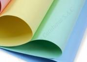 Venta de cartulina de colores