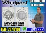 Reparacion de  secadoras whirpool