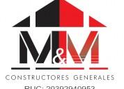 Constructor y remodelaciones