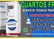 998766083 reparacion camaras de conservación lurin
