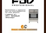 982508628 fdv mantenimiento cocinas lima servicio